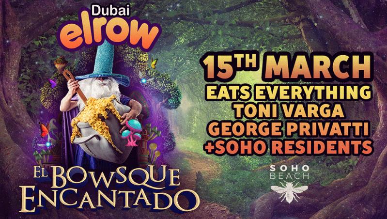 超人気フェス<Elrow 2019 Dubai>のメインを務めた Eats Everthing と TONI Varga のプレイ映像が解禁