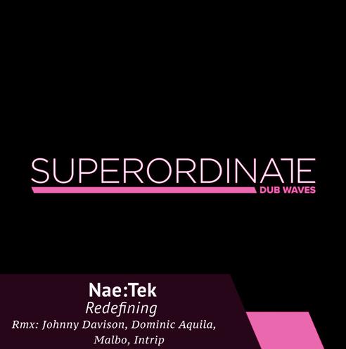 ダブテクノ専門Superordinate Dub Waves最新は、レーベルボス Nae:Tek のリミックスEP