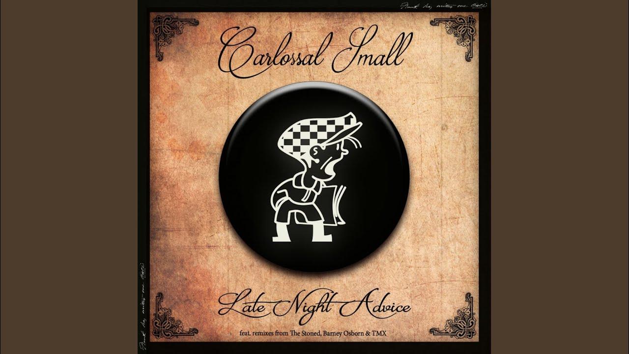 The Stonedらがリミックス。ジャジーなハウス専門レーベルCabbie Hatから、UKの新鋭 Carlossal Small が3枚目のEPをリリース