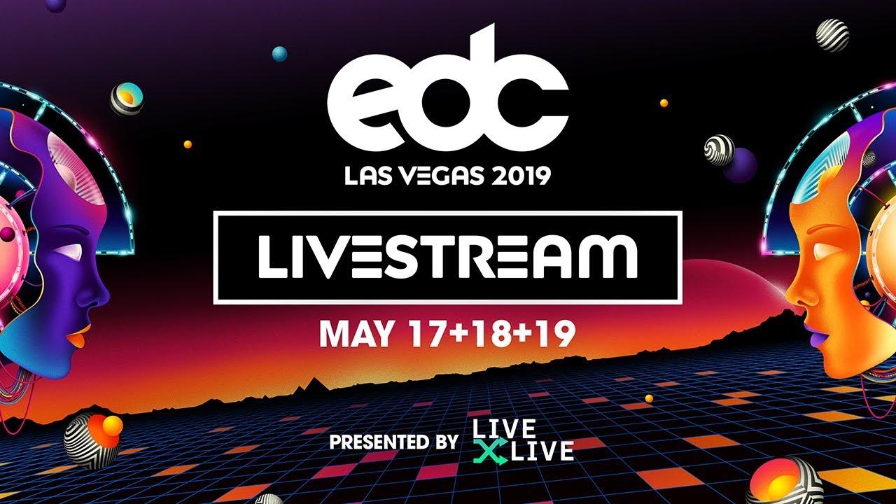 【5月18日】<EDC Las Vegas 2019>YouTubeライブ放送チャンネル一覧