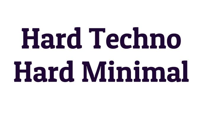 ハード・テクノ系(Hard Minimal、Hard Techno、Acid Techno)の新曲一覧&過去の名曲まとめ