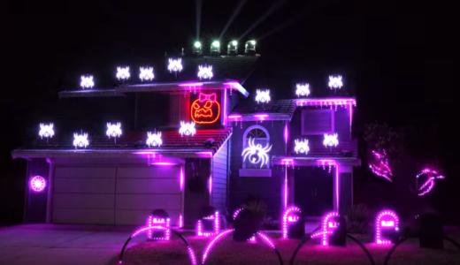 ハロウィンガチ勢、スクリレックスの音楽と自宅の電飾をリンクさせ「近所迷惑だ」と話題に