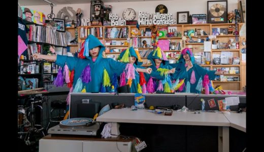 海外で人気急上昇中の CHAI(チャイ)、NPRのライブ企画<Tiny Desk Concert>に登場