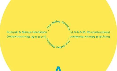 狂気のトライバルテクノ。Marcus HenrikssonとKuniyukiの即興セッション音源をJ.A.K.A.M.がリエディット