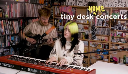 "Billie Eilish(ビリー・アイリッシュ)が<Tiny Desk Concert>で ""my future"" ""everything i wanted"" を披露"