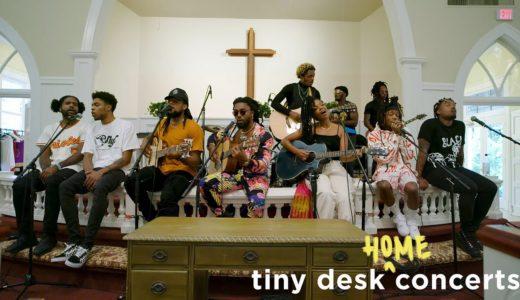 EarthGangら所属するヒップホップ集団 Spillage Village が<Tiny Desk Concert>に出演