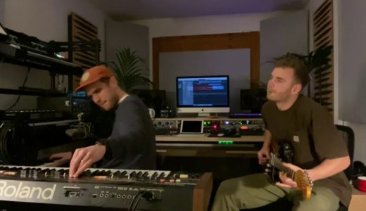 UKジャズの気鋭 Tom Misch が、Jordan Rakei とのセッション動画を公開