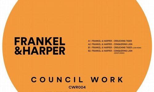 UK注目の2stepレーベル<Council Work>から Frankel & Harper がEPをリリース