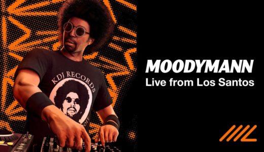 Moodymann がゲーム GTA で実装されたクラブでDJライブを披露、RAが映像を公開