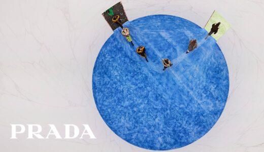 プラダ2021秋冬レディースショー映像公開。Plastikman によるオリジナル・ランウェイトラック使用