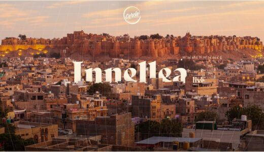 Innellea が<Cercle>に出演。ジャイサルメール城からライブを披露