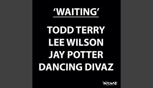 """【House】トッド・テリー、ジェイ・ポッターらによる心躍る新作シングル """"WAITING"""" リリース"""