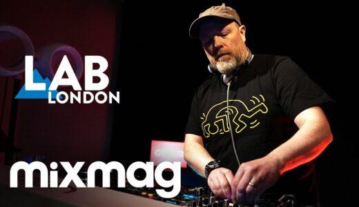 UKテクノシーンの重鎮 Ben Sims 、<The Lab LDN>で3デッキDJプレイを披露