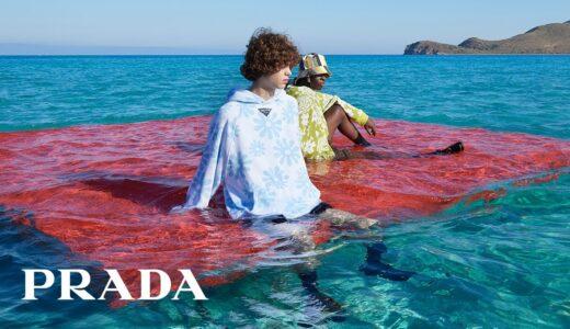 <Prada 2022春夏ミラノメンズコレクション>ショー映像公開|音楽に Plastikman のオリジナル・ランウェイトラック使用