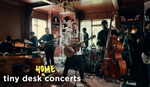 Ed Sheeran が<Tiny Desk Concert>に登場 最新アルバム収録曲を含む5曲披露